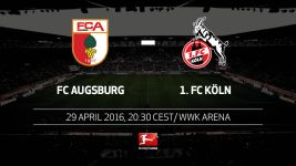 In-form duo Augsburg and Köln collide