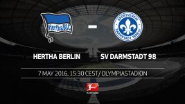 Hertha and Darmstadt have eyes on prizes