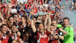 Freiburg crowned champions after victory over Heidenheim