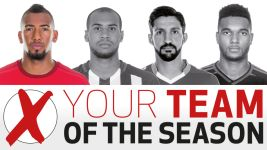 Team of the Season: Bayern's Boateng takes first centre-back spot