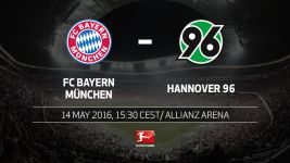 Beers, tears and farewells as champions Bayern host relegated Hannover