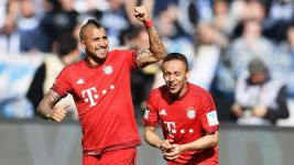 Vidal in der Top-11