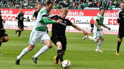 Fürth secure top-half finish with win over Sandhausen