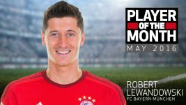 Lewandowski voted May Player of the Month