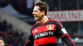 Chicharito's 2015/16 Bundesliga goals