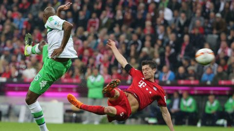 Watch: #Bundesliga50k: Top ten Bundesliga goals