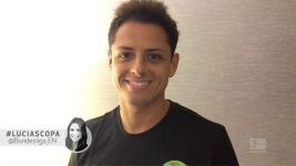 'Chicharito' thanks fans for support