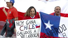 Chile capturing hearts and minds at the Copa