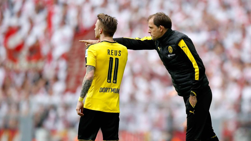 Image result for thomas tuchel borussia dortmund 2016-17