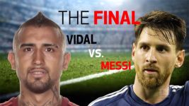 Vidal's Chile vs. Messi's Argentina