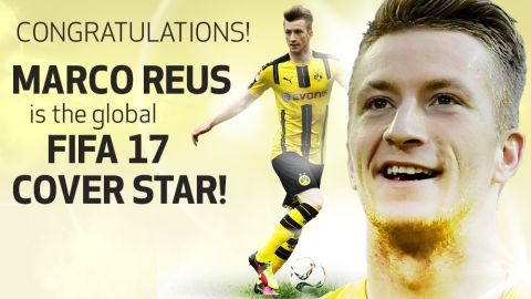 Reus FIFA's cover star