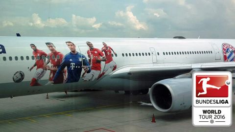 Bayern depart for USA summer tour