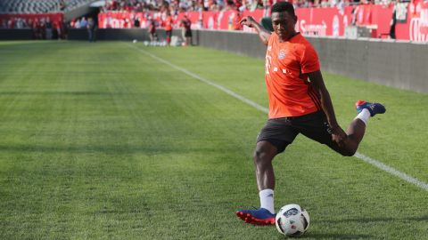 Alaba on the USA, Ancelotti and Bayern's aims