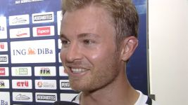 Rosberg excited by Dortmund's frontline