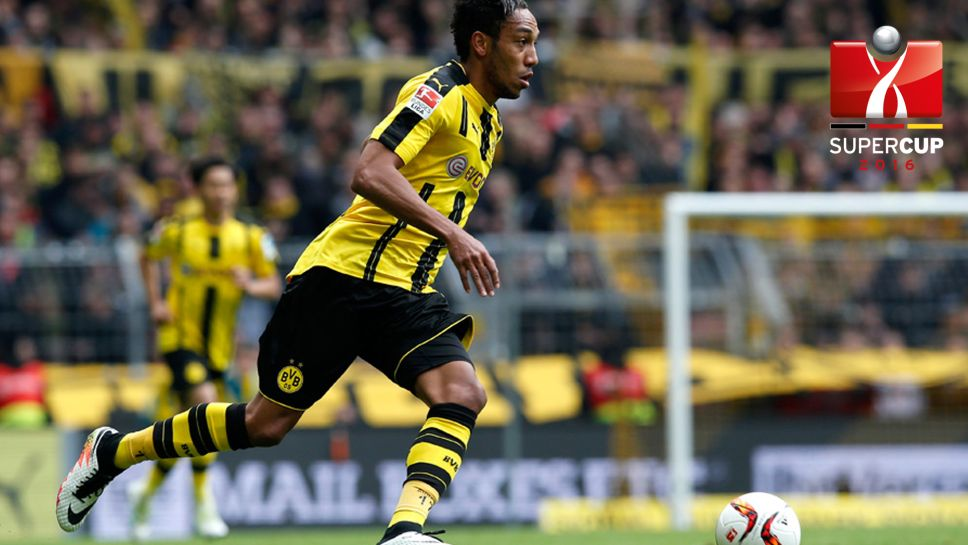 Image result for Pierre-Emerick Aubameyang 2016-17