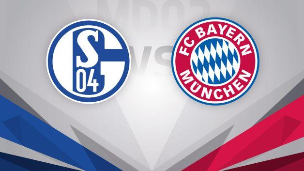 Fc schalke 04 vs fc bayern m nchen live - German league fixtures results table ...