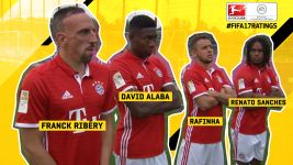 FIFA 17 Ratings: Bayern