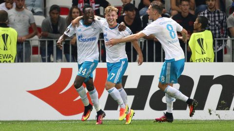 Schalke win in Nice