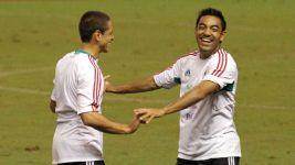 Mexico call on Fabian and Chicharito