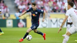 Burke on target in Leipzig draw