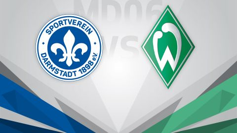 Darmstadt host crunch battle with Bremen
