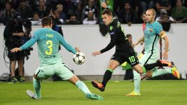 Gladbach beaten by Barcelona