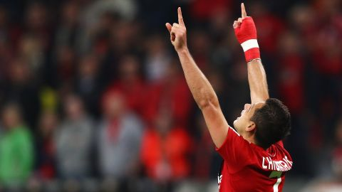 Chicharito delighted
