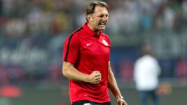 "Leipzig coach Hasenhüttl: ""We can win with kids"""
