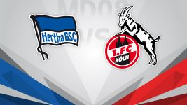 Hertha and Köln battle for spoils