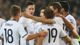 Germany see off Northern Ireland
