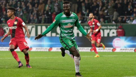 Watch: Matchwinner Manneh on Bremen's victory