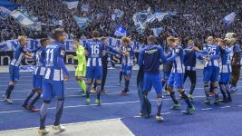 Hertha Berlin revelling in exalted company