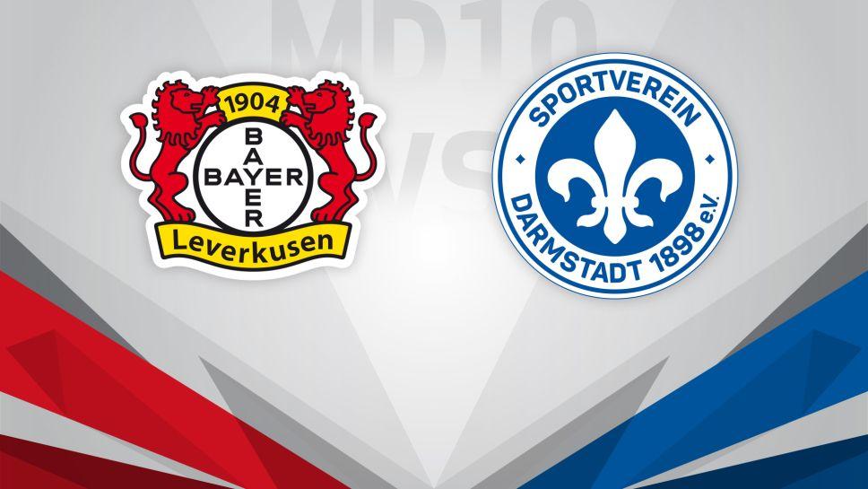 Bayer Leverkusen vs Darmstadt 98
