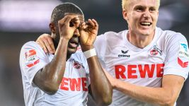 Watch: Modeste's stunning 11 goals in nine games
