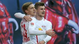 Watch: Werner and Forsberg on Leipzig's success