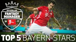 Video: Top 5 Bayern-Stars im Fantasy Manager