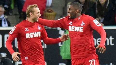Köln steal dramatic derby win in Gladbach