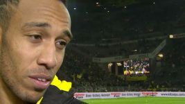 Watch: Aubameyang on a 'crazy' Klassiker