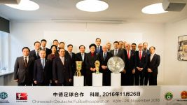 Sino-German football exchange in Cologne