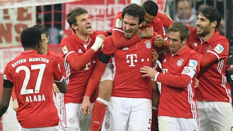 Watch: Bayern on the brink of fifth straight title
