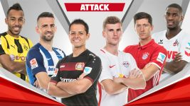 Team of the Hinrunde: strikers