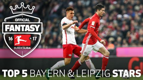 Watch: Bayern and Leipzig's fantasy stars