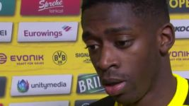 Watch: Dembele: 'Have to get back on our feet'
