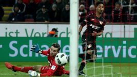 Leverkusen held by Köln in Rhine derby
