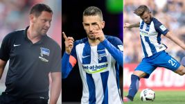 Season so far: Hertha Berlin