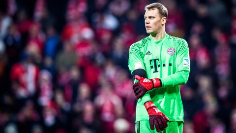 Neuer named in FIFPro world XI