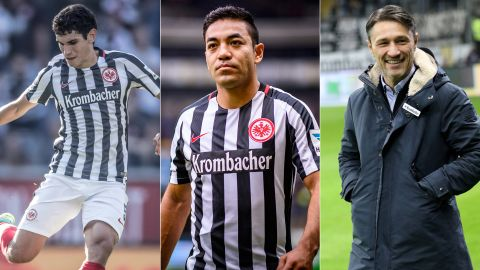 Season so far: Eintracht Frankfurt