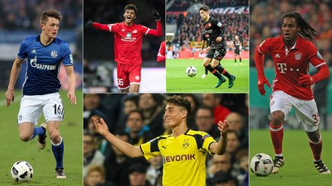 The Bundesliga's young talents to watch in 2017