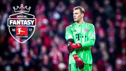 Official Fantasy Bundesliga: top five goalkeepers
