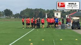 Watch: Leverkusen touch down in Florida